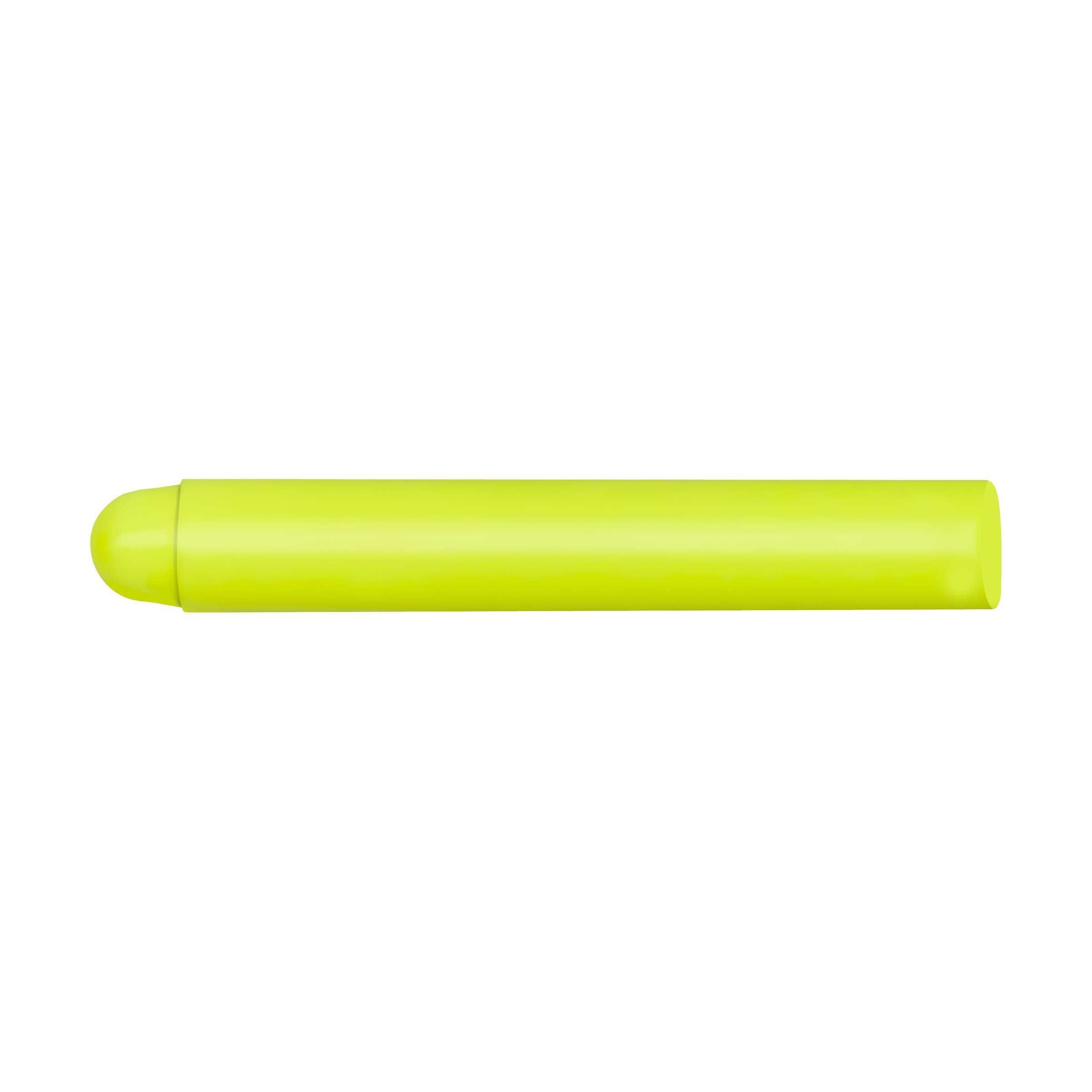 Markal UltraScan Polymer Fluorescent Lumber and Timber Marker, 11/16'' Round, 4-5/8'' Length, Yellow (Pack of 12)