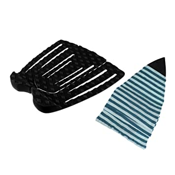 MagiDeal Tabla de Surf Longboard Funboard Sock Bolsa Protector Cubierta + 3X Traction Pads