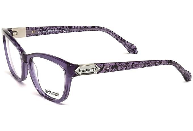 c518ffa9405 Roberto Cavalli Women Purple Cat EyeFrames-(Algorab 810 080