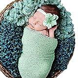 Newborn Photography Prop Blanket,amazingdeal Baby Infant Boys Girls Cotton Linen Swaddle Wrap