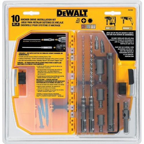 DEWALT DW5366 Anchor Drive Kit - Anchor Kit 10
