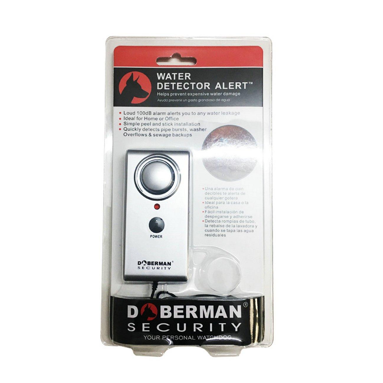 GuDoQi® Sensor de nivel de agua alarma almacén humedad líquido detección de fugas seguridad en el hogar detector de agua alerta