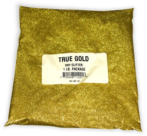 Bulk High Quality Gold Glitter Is Superfine For Extra Brilliance! (1lb.)