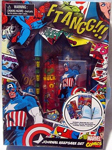 Keepsake Box Set (Marvel Comics Journal Keepsake Set box with lock & key)