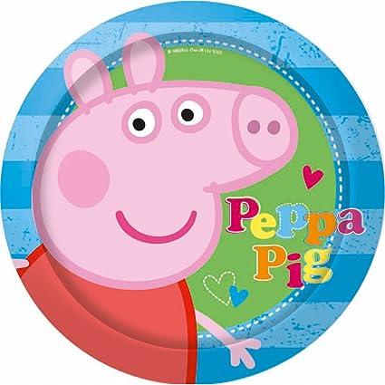 Peppa Pig Plates: Amazon.es: Juguetes y juegos