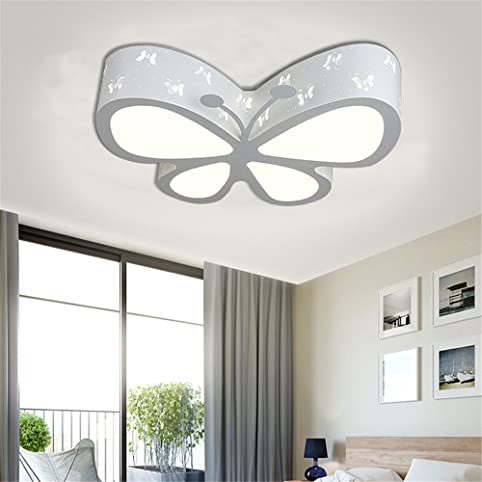 Lilamins Children Ceiling Lamps Girls Butterfly Light Bed For Lighting Living Room