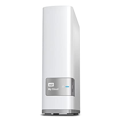 WD My Cloud 4TB Personal Cloud Storage (White)