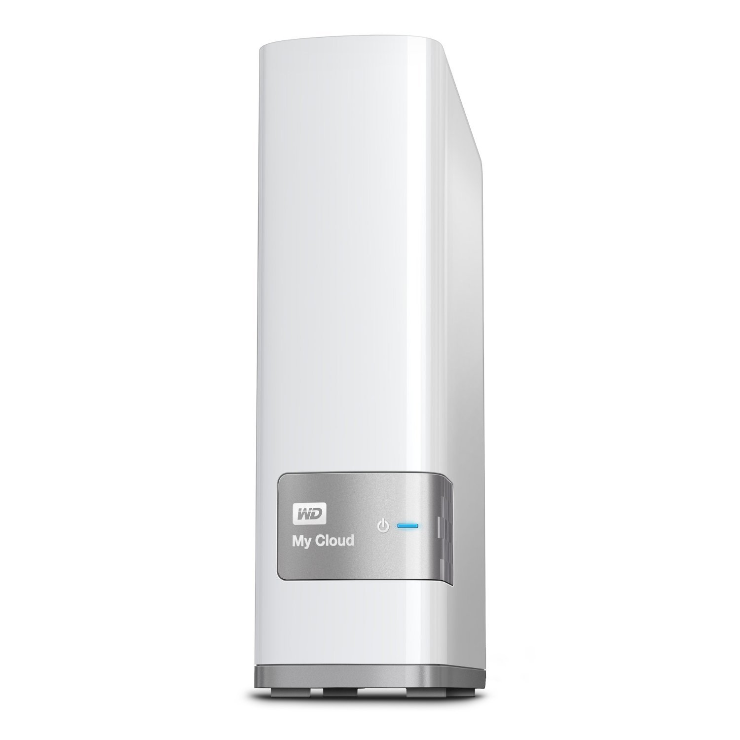 WD 4TB My Cloud Personal Network Attached Storage - NAS - WDBCTL0040HWT-NESN