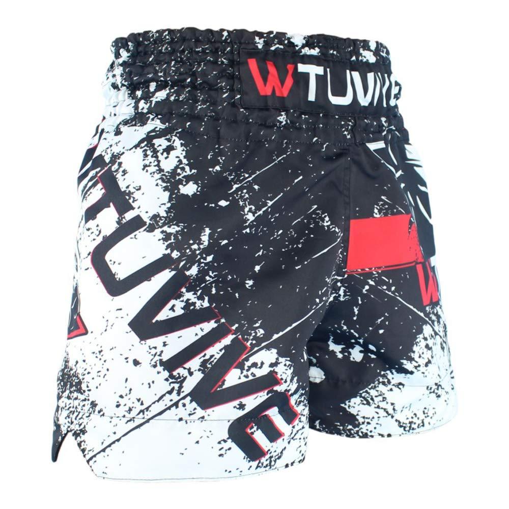 WTUVIVE Muay Thai Shorts Men Boxig MMA Fight Training Shorts