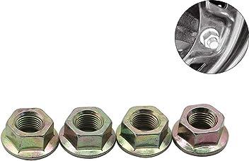 Motoparty Flange Wheel Lug Nut Fit For Polaris ATVs and UTVs Sportsman 300 400 450 500