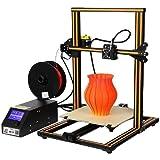 Creality CR-10 Impresora 3D Prusa I3 Kit de bricolaje montado a medias