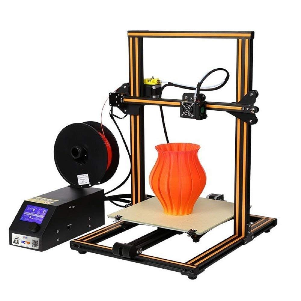 Creality CR-10 3D-Drucker Prusa I3 Aluminum DIY-Set Large Print Size Orange HICTOP 111