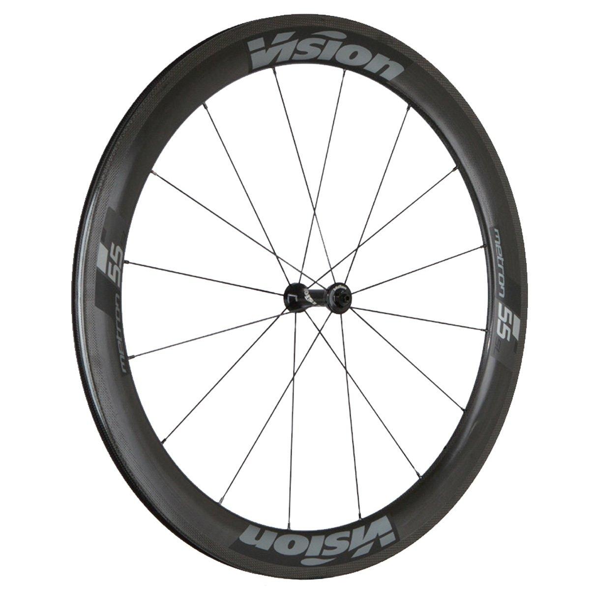 FSAビジョンメトロン55 SLクリンチャー自転車ホイールセット  Black Decal B06XBH2RF4