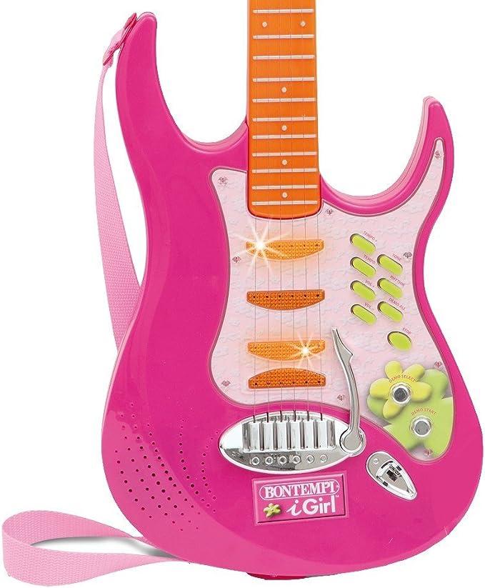 Bontempi GR 7371 Instrument de Musique Guitare Electrique 73 cm + Micro Casque
