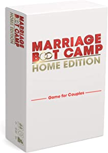 Marriage Boot Camp Home Edition - The Ultimate in Couples Games from the Hit WE tv Series - Conversation Cards in 6 Categories - Date Night Box Card Game - Fun and Unique Couples Gifts