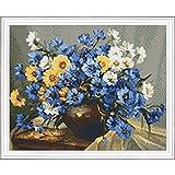 PixelHobby Bouquet of Blue Mosaic Art Kit