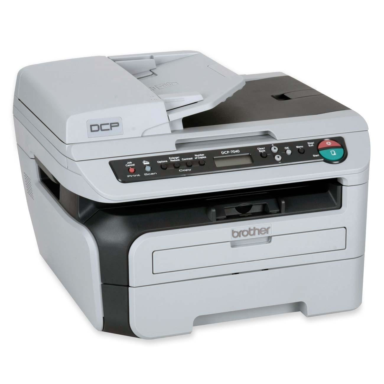BROTHER DCP-7040 PRINTER SCANNER TREIBER WINDOWS XP