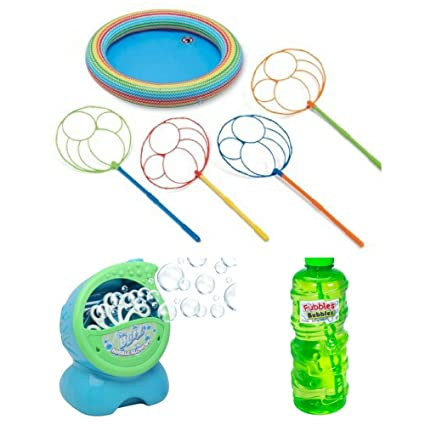 Amazoncom Blitz Blowout Bubble Party Machine Play Day Inflatable