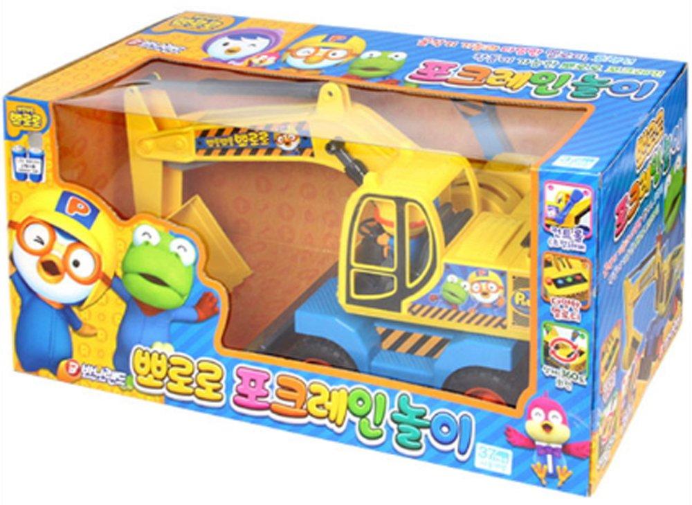 Pororo Pork Crane Play Heavy Equipment Play Toy Car (480X200X235 Mm)