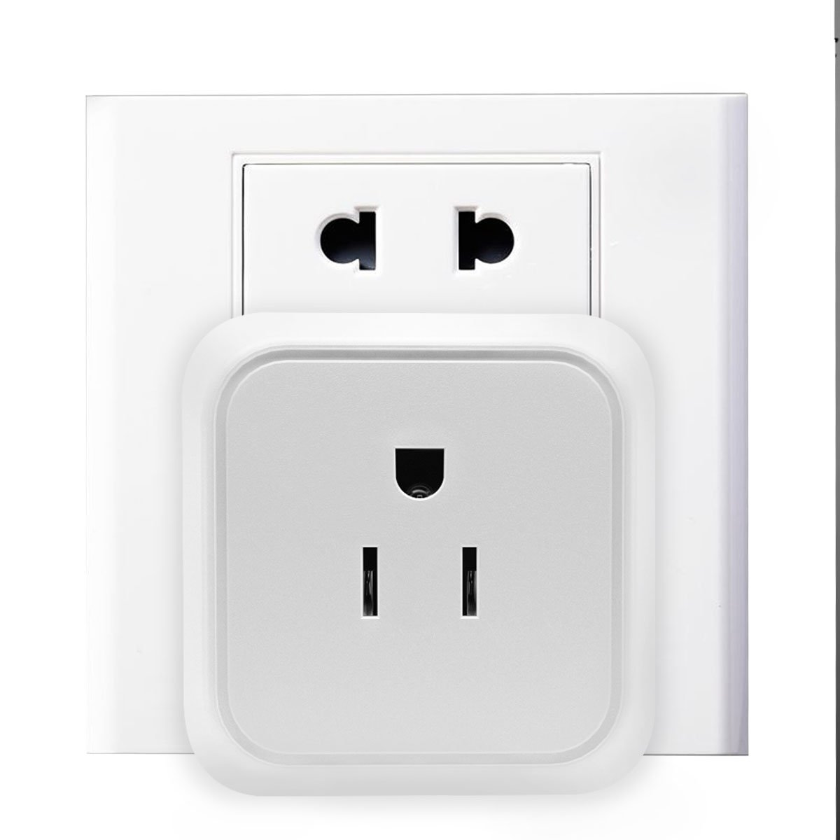 Smart Plug - Wifi Smart Mini Outlet Socket Compatible with Alexa Echo and Google Home IFTTT, Remote Control by Smart Phone with Timing Function from Anywhere, No Hub Required (2 Packs)