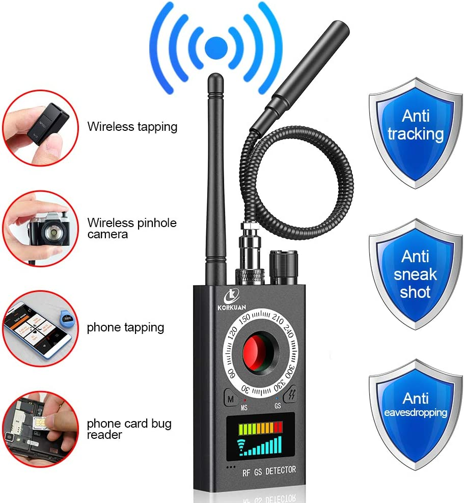 Cameras Detector Wireless GSM Bugs GPS Finder Locator Monitor Anti