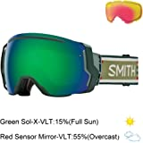 Smith Optics I/O 7 Adult Snowmobile Goggles Forest Woolrich / Green Sol-x Mirror