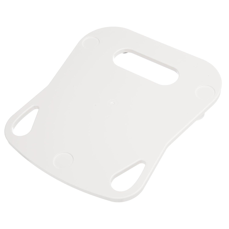 KochFix Tabla deslizante para Thermomix TM5 | Premium de tabla de deslizamiento para la cocina | Posavasos (blanco)