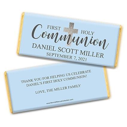 Envoltorios personalizados para la primera comunión de ...