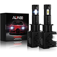 Aukee H1 LED Bulbs, 12000Lm 6000K 60W Extremely Bright All-in-One Headlight Conversion Kit