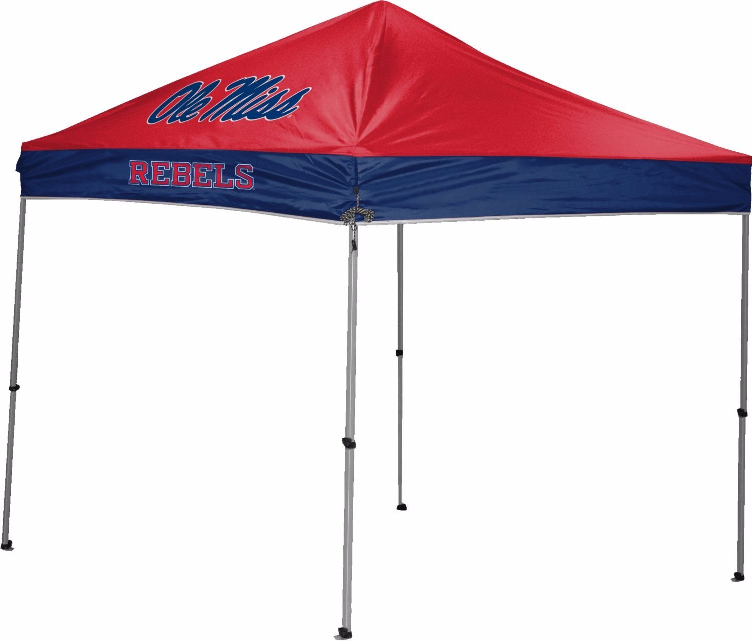 Jarden Sports Licensing NCAA Instant Pop-Up Canopy Tent with Carrying Case, 9x9 (All Team Options)