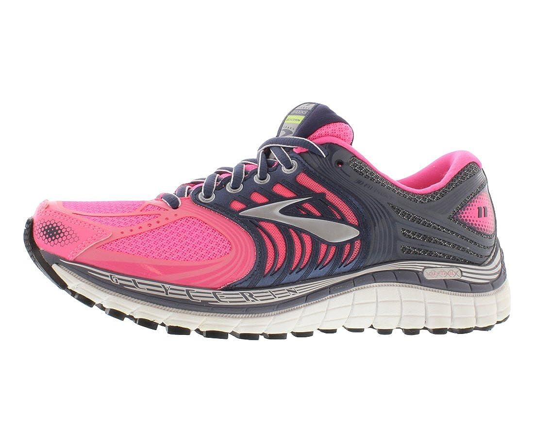 Brooks Womens Glycerin 11 Running Shoe Pink Grey