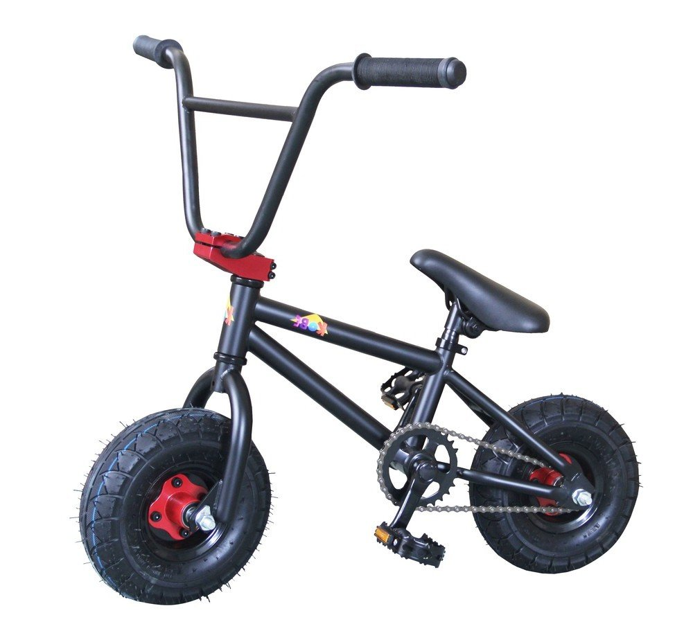 Kobe Mini Bmx Bike Pro Bicycle Black Red Sports