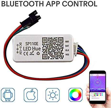 SPI Wifi Wlan RGB Controller 5V WS2812b Steuerung Handy APP iOS iPhone Android