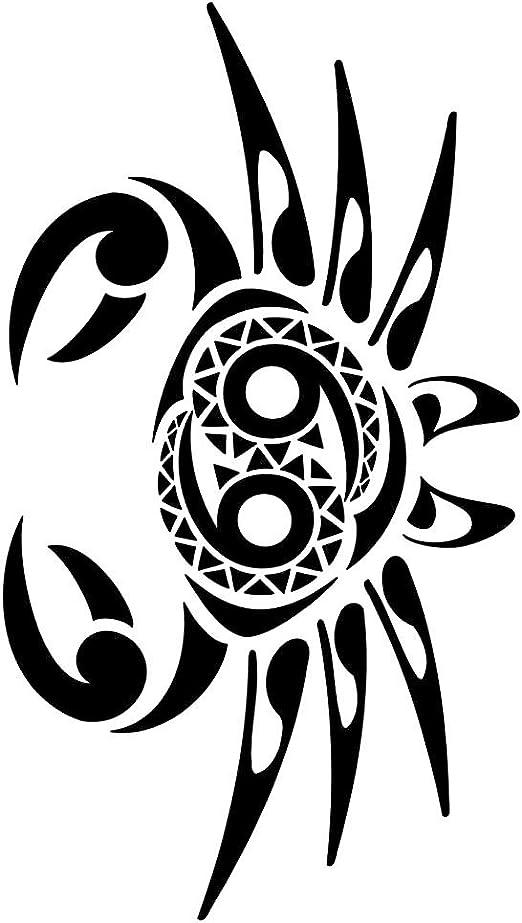 GetitStickit Diseño de Cangrejo Maori Zodiaco Cáncer Tatuaje ...