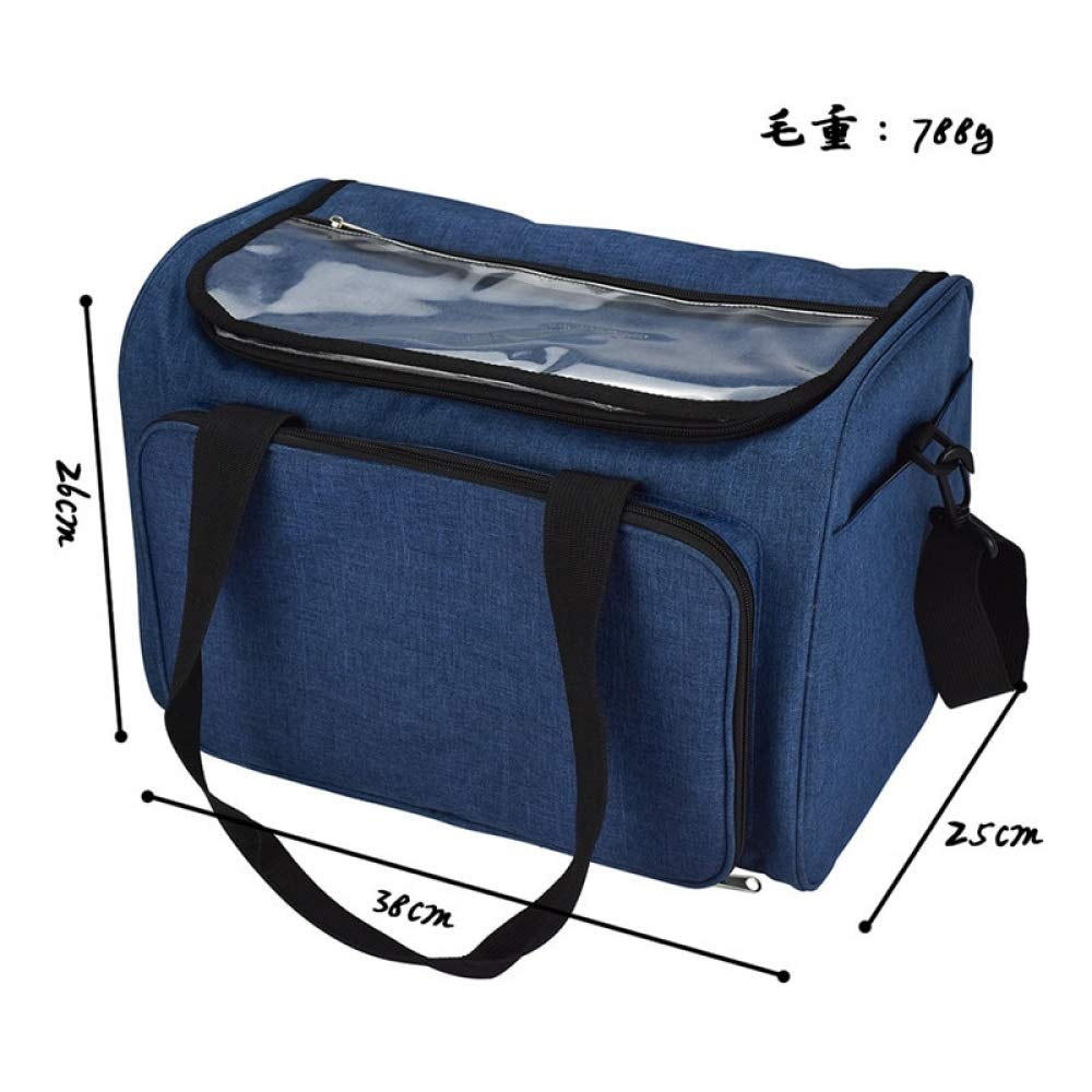 Twins LLC - Empty Yarn Storage Bag Household Portable Tote Storage Case for Wool Crocheting Hook Knitting Needles Sewing Accessories