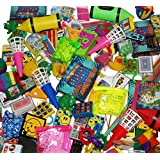 Jumbo Party Favors Pack of Exciting Toys, Prizes and small games beloved by Kids. Great for Party Giveaways, School Classroom Rewards and Carnival Events (Made and EXCLUSIVELY sold by SMART NOVELTY)