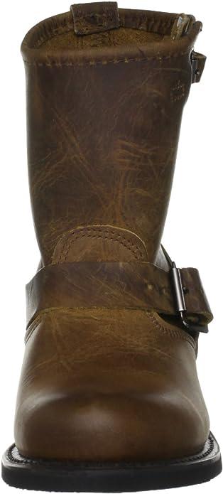 Women/'s Frye Boots 77500 BLK Engineer 8R Black