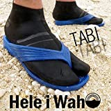HeleiWaho(ヘレイワホ) フィンソックス マリンソックス シュノーケリングソックス 3mm TABIソックス ショートタイプ
