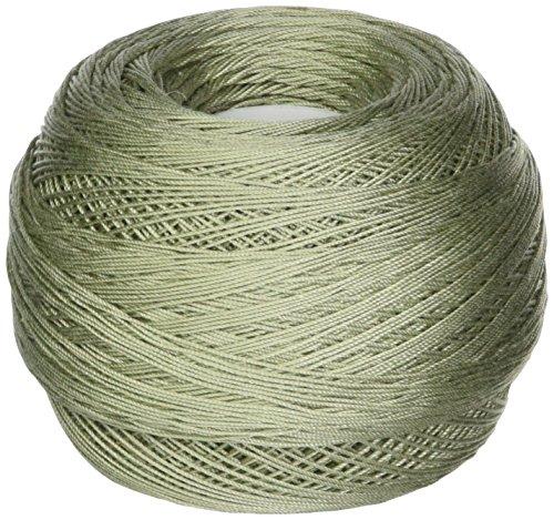 DMC 167GA 20-524 Cebelia Crochet Cotton, 405-Yard, Size 20, Light Green by DMC (Image #1)