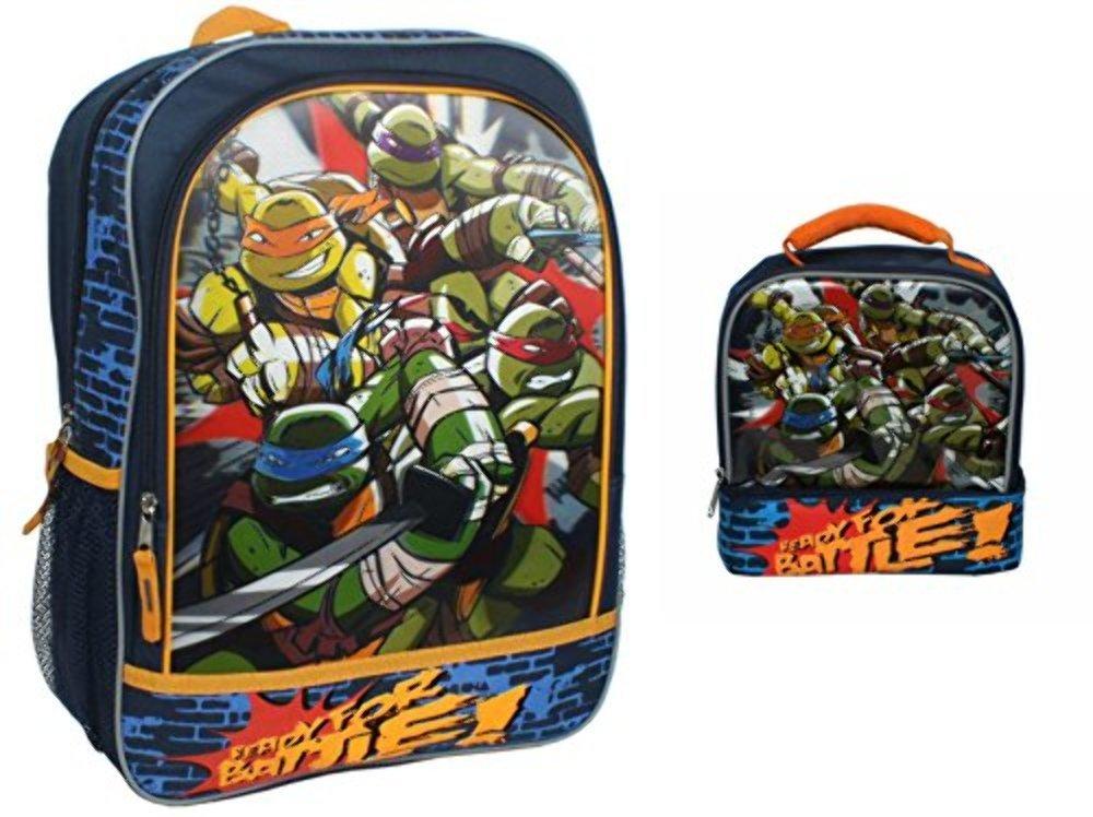 Teenage Mutant Ninja Turtle 3d mochila y fiambrera: Amazon ...