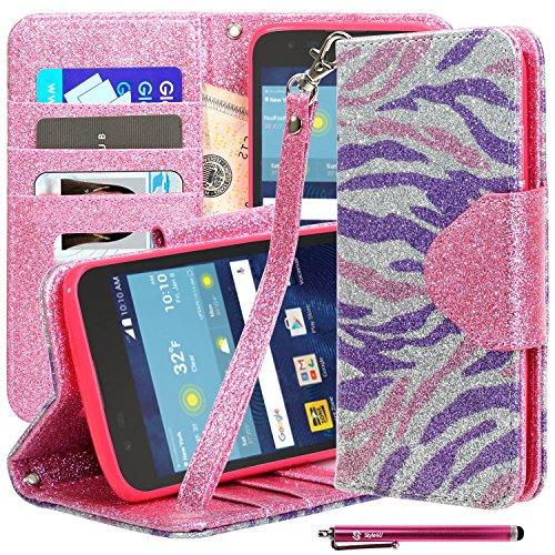Cheap Cases LG K7 / Tribute 5 Case, Style4U [Everlasting Shine] Premium Zebra Print..