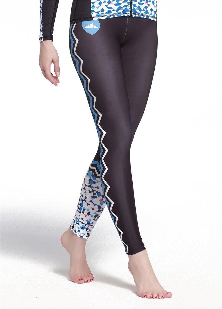 Fortunings JDS /Él/égant surf Protection UV natation pantalon long plage Yoga course collants pantalon