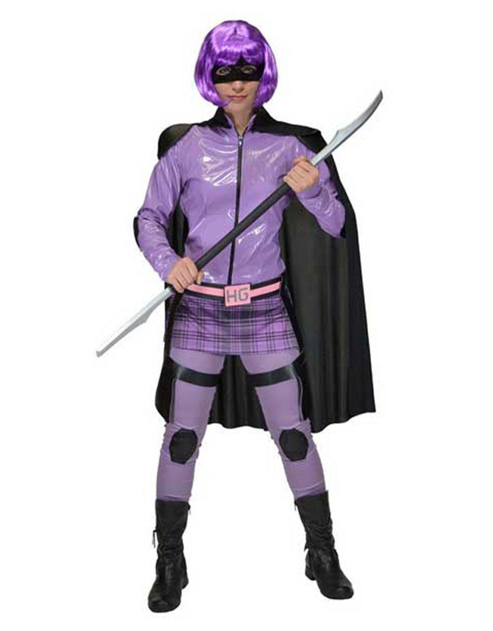 Original lizenziertes Hit-Girl Kostüm für Erwachsene aus dem Film Kick-Ass