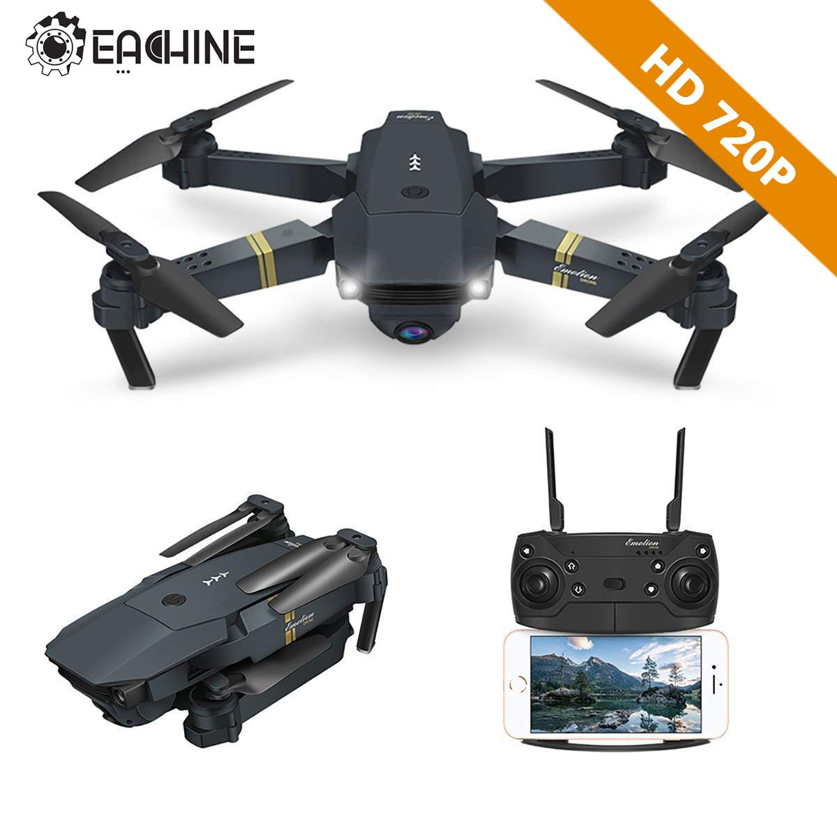 E58 Drone X Pro Foldable 2.4ghz Quadcopter Wifi 1080p Camera 4 Pcs Batteries Low Price Camera Drones