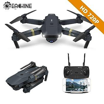 ac9092e3bc8 EACHINE Drone With Camera, E58 WIFI FPV Quadcopter With 2MP 720P Wide Angle  Camera Live