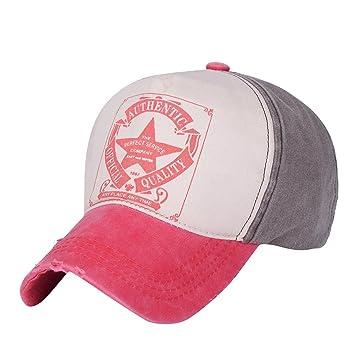 Gorras Gorras béisbol béisbol Vintage Star Snapback Unisex Hombre ...