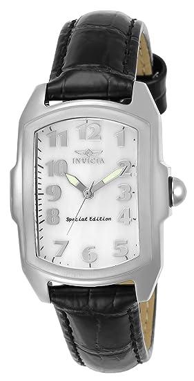 Invicta 5168 Lupah Reloj para Mujer acero inoxidable Cuarzo Esfera blanco: Amazon.es: Relojes