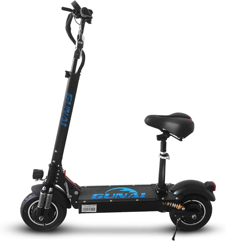 Si quieres un patinete eléctrico a buen precio, el GUnai 2000W es totalmente recomendable