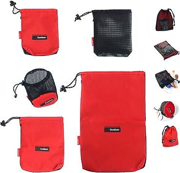 Ultralight Clothes Shoes Mesh Stuff Sack Storage Drawstring Bag Tavel Camping 0T