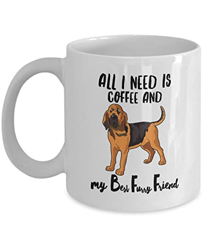 Amazon bloodhound gifts bloodhound ornament mug all i need bloodhound gifts bloodhound ornament mug all i need is coffee and my bff solutioingenieria Choice Image